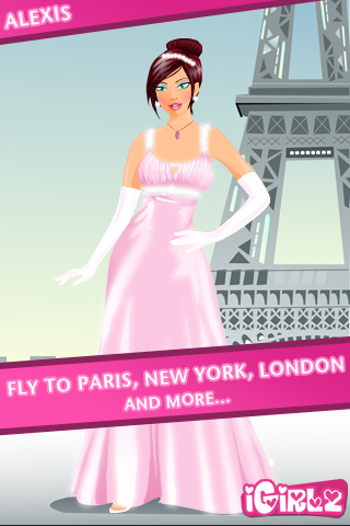 Screenshot iGirlz Alexis – Dress Up Game